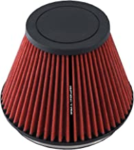 Height; 7.313 in Spectre Performance HPR9892 Universal Clamp-On Air Filter: Round Tapered; 6 in 152 mm 178 mm 130 mm Base; 5.125 in Flange ID; 7 in Top 186 mm
