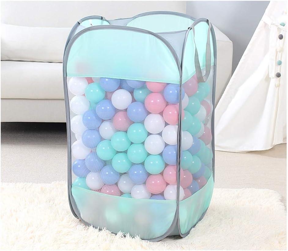 LINRUI-ZhaLan Indoor Wholesale Folding Storage Basket Super-cheap Color Ball Ocean for
