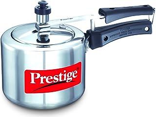 Prestige Nakshatra Polished Aluminum Cooker 2 Liters [Mpn11602], Silver