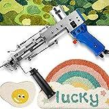 Corte la pistola de sujeción de la alfombra de la pila, máquina de tejer alfombra eléctrica tejido de la máquina de flocado de tejido de mano Máquina de pistola de alfombra con 5- 40 puntos / seg(aju