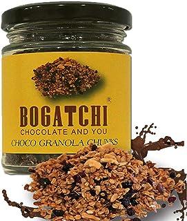 BOGATCHI Snacks Chocolate Granola Chunks - Gluten Free | Vegan | Snacks with Oats, , Cornflakes, Almonds, Honey, Cranberry...