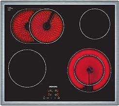 Siemens ET645HN17E iQ300 Kochfeld / 58.3 cm / schwarz / Flachrahmen-Design / Digitales Funktionsdisplay