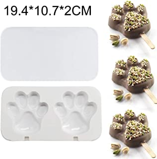 Ice-Cream -Tools | Silicone Freezer Ice Cream Mold Popsicle Maker Pop Lolly Tray Ice Cube Making Juice Popsicles Molds Childrenr Candy Bar Tool |Cookie Cutter| By ALILA