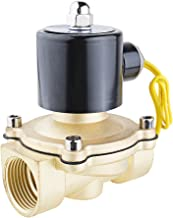uxcell AC 110V Electric Solenoid Valve NPT 1 inches Normally Closed NC Direct Action for Water Air Gas Fuels