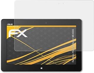 atFoliX Película Protectora Compatible con ASUS VivoTab Smart ME400C Lámina Protectora de Pantalla, antirreflejos y amortiguadores FX Protector Película (2X)
