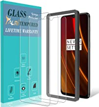 TAURI Screen Protector for Oneplus 6T, [3-Pack] [Alignment Frame] Easy Install [Case Friendly] Tempered Glass Screen Protector, Lifetime Replacement Warranty