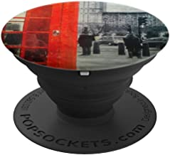 STREETS OF LONDON ENGLAND UK RED TELEPHONE BOOTH PopSockets Grip and Stand for Phones and Tablets