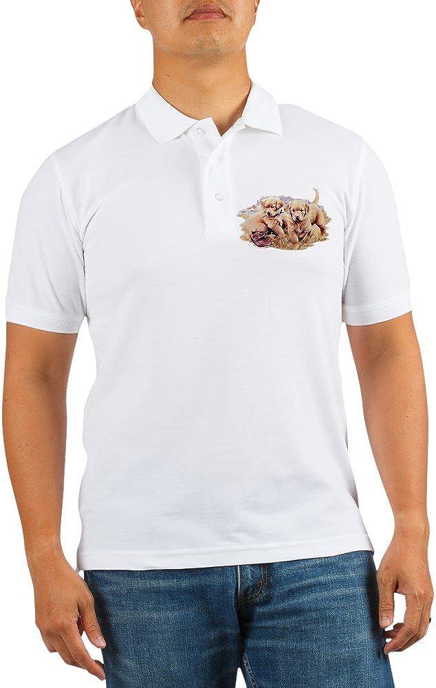 Royal Lion Golf Seattle Mall Shirt Retriever Puppies Max 42% OFF Golden