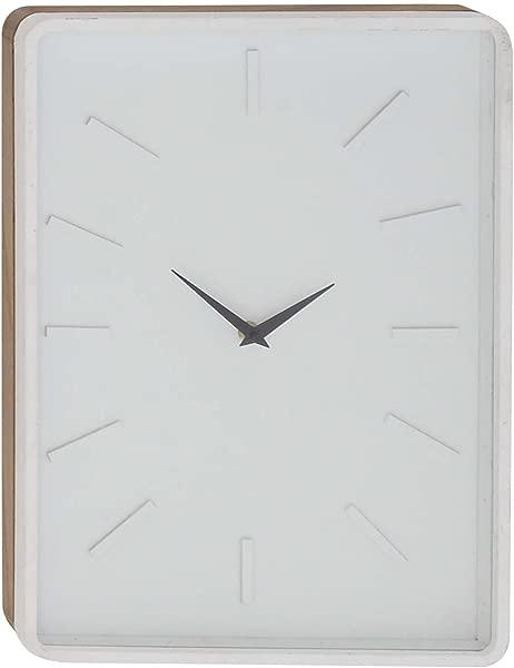 Deco 79 85274 Wall Clock Black White
