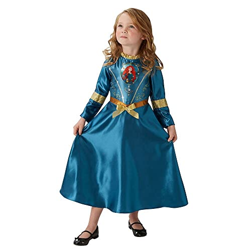 Rubieu0027s Official Merida Girls Fancy Dress Disney Princess Brave Fairytale  Book Childrens Costume
