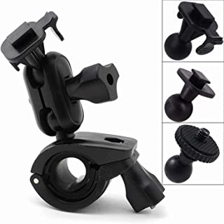 Máy thâu hình đặt trên xe ô tô – iSaddle CH214 Car Rearview Mirror Mount Holder Bicycle Handlebar Mount Holder for GPS in Dash Camera Car DVR Recorder DOD PAPOAGO HP Yi Blackbox.