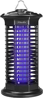 DINOKA Lámpara Anti Mosquitos, UV LED Lámpara Mosquitos Electrico Bajo dB Interior Mosquito de la Lámpara para Mata Mosquitos, Insectos, Polillas, Moscas (Negro)