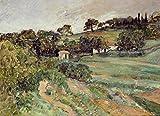 Das Museum Outlet–Landschaft in der Provence, 1875, gespannte Leinwand Galerie verpackt. 96,5x 121,9cm