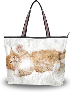 My Daily Maine Coon Damen-Handtasche mit Katzenmotiv