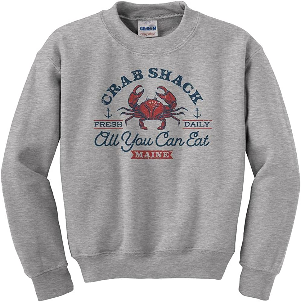 excellence Denver Mall Crab Shack All You Can Youth Eat Kids Sweatshirt