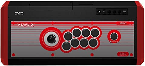 HORI Real Arcade Pro. 4 Premium VLX (Red) Arcade Fighting Stick for PlayStation 4/PS3