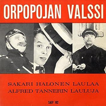 Sakari Halonen laulaa Alfred Tannerin lauluja
