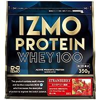 アルプロン IZMO イズモ ホエイプロテイン ストロベリー風味 350g 生きた乳酸菌BC-30配合(国内生産)