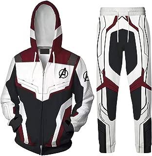 SevenJuly123 Superhero Adult Unisex Hoodie Pullover/Zip up Jacket Casual Coat Cosplay Costume
