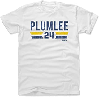 Mason Plumlee Shirt - Denver Basketball Men's Apparel - Mason Plumlee Denver Font