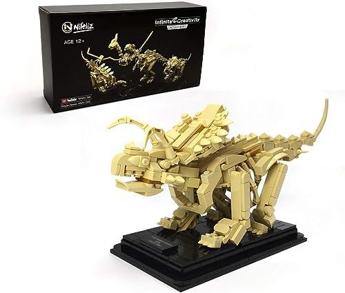 popular Nifeliz sale Dinosaur Fossils discount Building Kit (Triceratops, 496pcs) sale