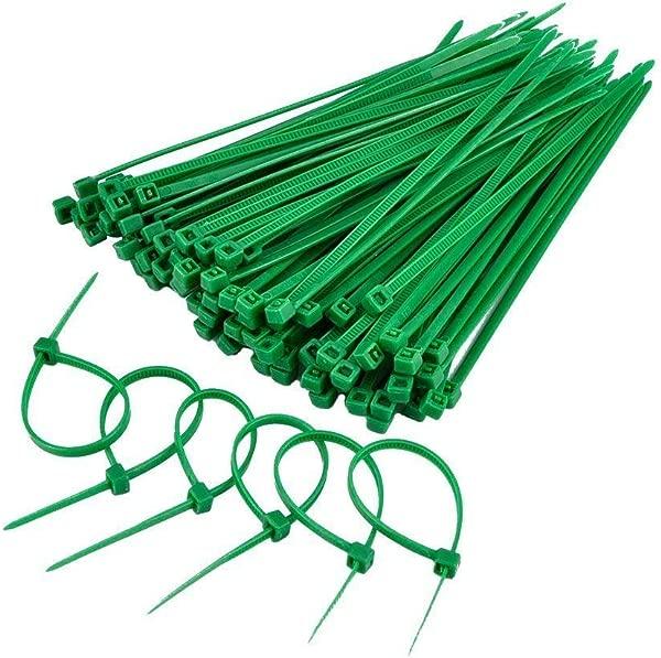 树篱迷宫 200 件重型绿色隐形扎带设计用于人造树篱