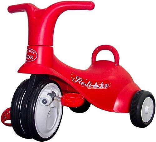 Kinder Dreirad Mini Bike einfach Indoor Outdoor 1-3 Jahre alt rot Stahl Fahrrad