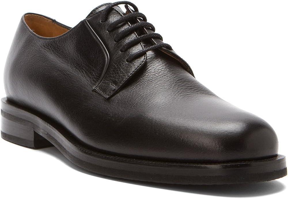 Dino Monti Adesso - Men's Lace Up Oxfords Black CLF - 12.5 (s)-aa