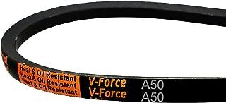 MVP Industrial A50/4L520 V-Force Premium V-Belt, 1/2