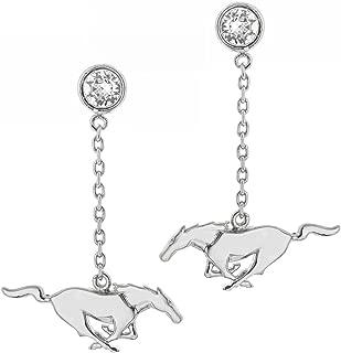 ford mustang earrings