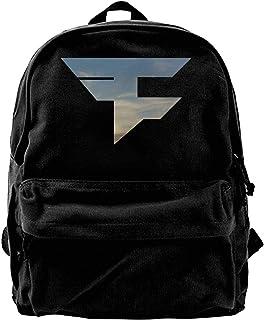 Mochila de lona Faze Clan 1 mochila de gimnasio senderismo portátil bolsa de hombro para hombres y mujeres