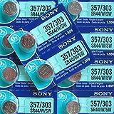 Sony 357 SR516SW Knopfzellen / Uhrenbatterien (mit Silberoxid, quecksilberfrei),10er-Packung