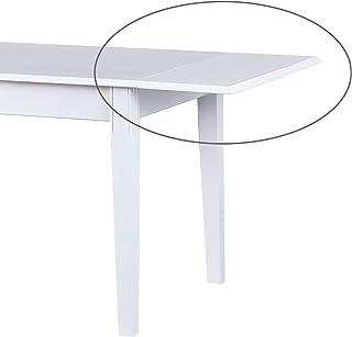 Esidra Hopkinsville Rallonge pour Table Westerland, Bois, Blanc, 90 x 40 x 2,1 cm