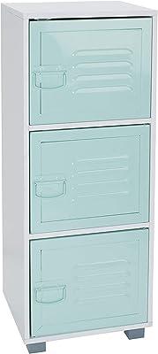 House & Homestyle Armoire de Rangement 3 Door Vert