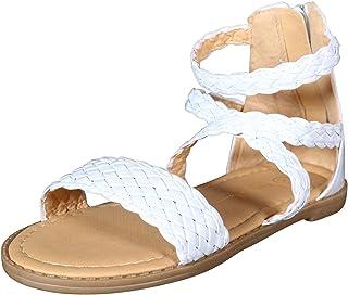 896381913faf Nicole Miller New York Toddler Girls Braided Gladiator Sandal
