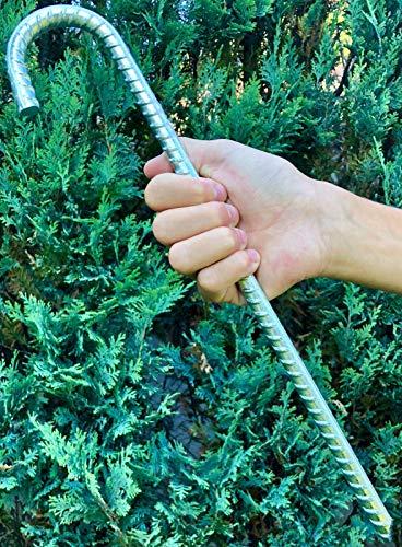 5x Bodenanker XL Zelthering Erdanker Erdnagel Hering Spieß Ø 12mm, Länge 38cm