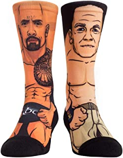 WWE The Rock v. John Cena WM29 Rock 'Em Socks