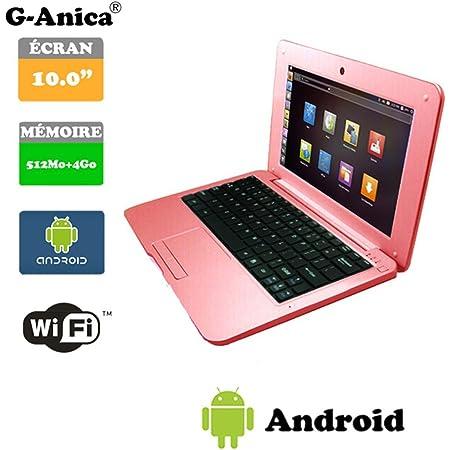 Netbook Laptop Ultrabook Android 4 2 Hdmi écr 10 Rose Computer Zubehör