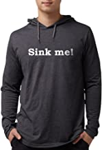 CafePress - Sink Me! On Dark Colors Long Sleeve T-Shirt - Mens Hooded Shirt