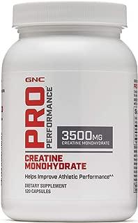 GNC Pro Performance Creatine Monohydrate 120 Capsules