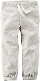 Carter's Girl's Heather Pull On Fleece Joggers (2T)