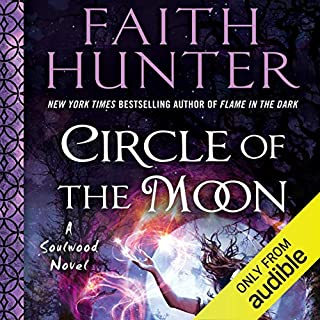 Circle of the Moon     Soulwood, Book 4              Written by:                                                                                                                                 Faith Hunter                               Narrated by:                                                                                                                                 Khristine Hvam                      Length: 15 hrs and 58 mins     5 ratings     Overall 4.4