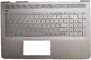 キーボードの縁にハウジング & ノートブックキーボー For HP Pavilion 15-CD 15-cd000 15-CD028NA シルバー 928438-001