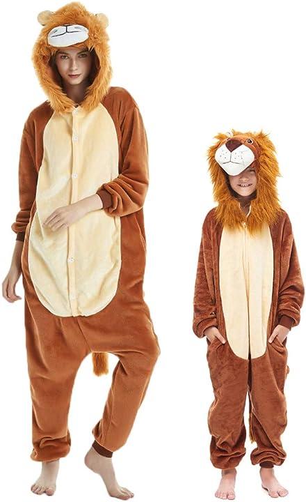 Pigiama animali bambini unisex party sleepwear per ragazzo ragazza - debaijia B01N59GQXW