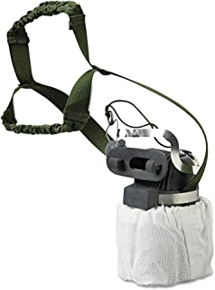 MSA 455299 Mouthbit Self-Rescuer W65 Escape Air Purifying Respirator with Belt-Loop, 17.24