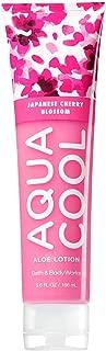 Bath & Body Works Aqua Cool Aloe Gel Lotion Japanese Cherry Blossom