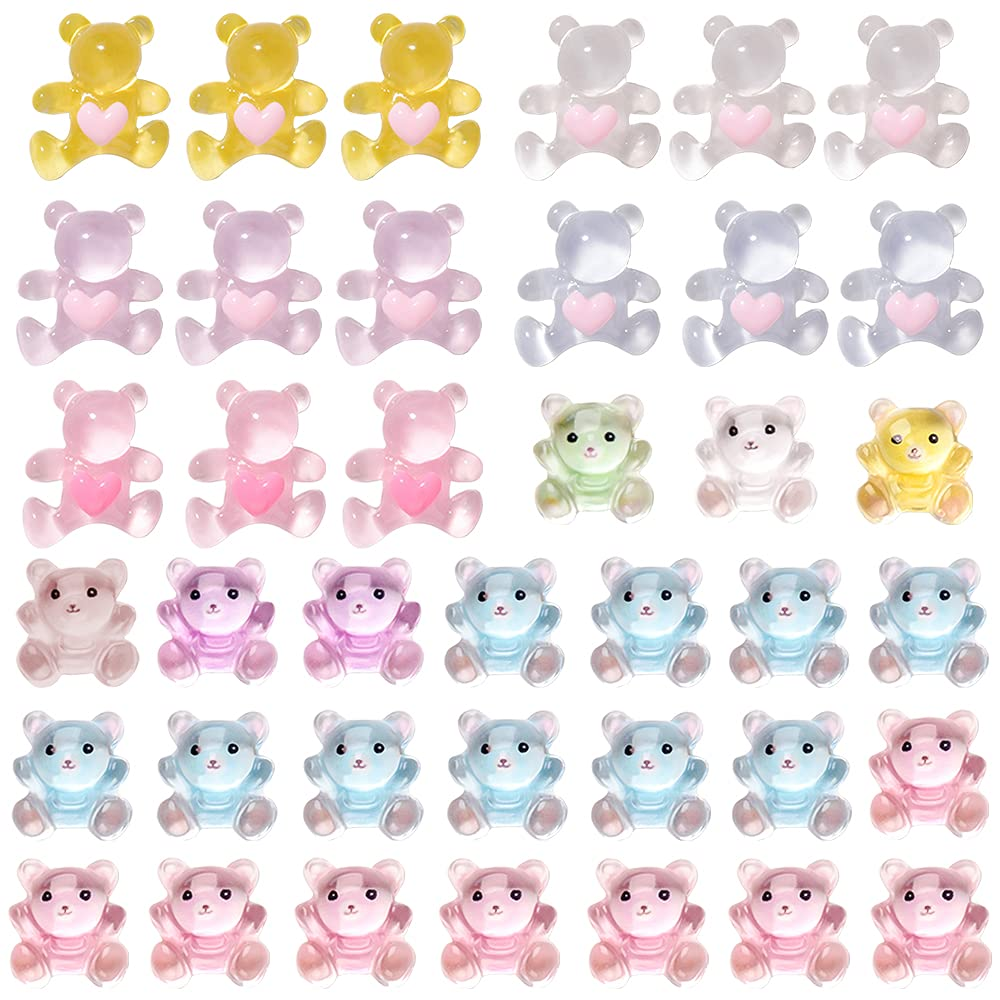 Gummy Bear Nail Charms 3D Love Candy Decor Crystal Art Max Ranking TOP8 84% OFF