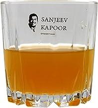 Sanjeev Kapoor Monarch Kerat Rock Tumbler, 300 ml, Set of 6, Transparent