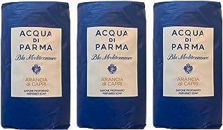 Acqua di Parma Arancia di Capri Blu Mediterraneo Wrapped Soaps 100 grams - Set of 3