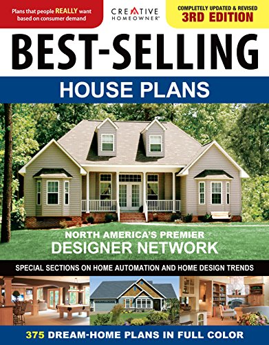 Compare Textbook Prices for Best-Selling House Plans, Completely Updated & Revised  Creative Homeowner 375 Dream-Home Plans in Full Color; Special Sections on Home Automation, Home Design Trends, Curb Appeal, & More Updated & Revised 3rd Edition ISBN 9781580117616 by Creative Homeowner